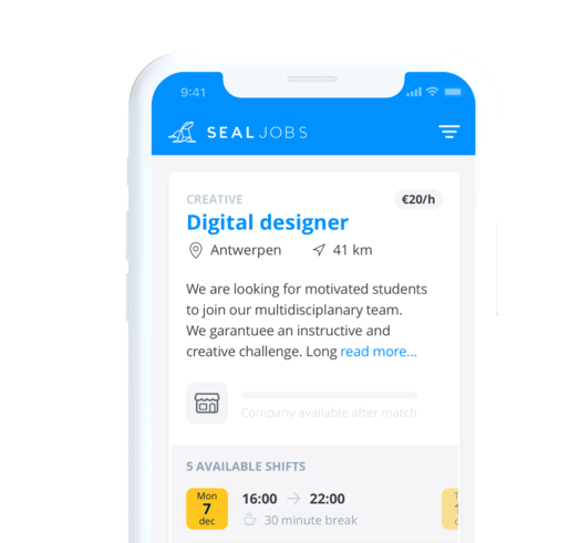 seal jobs mobile